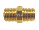 Hexagonal nipple 1/4 (m) npt