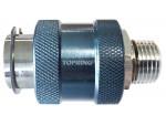 Slide valve 3/8 (m) npt