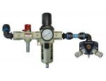 F/r unit + manifold 20 mm quiksilver (2) 31.884 pps