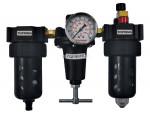 Filter + regulator + lubricator 1/4 manual polycarbonate hiflo2