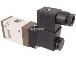 Valve single solenoid nc 24vdc 3/2 1/2npt optima