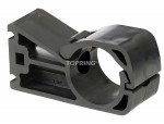 Mounting clip for pipe 63 mm pps