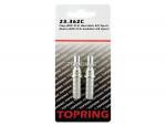 Plug (aro 210) hose barb 3/8 2pcs/c