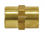 Hexagonal coupling 3/4 (f) npt