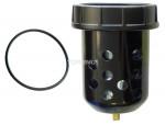 Bowl polycarbonate filter 1/2 manual hiflo