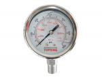 "Liquid gauge 2-1/2"" – 1/4 npt lm 0-600 stainless steel"
