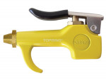 Compact tapered tip blow gun