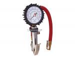 "Inflator gauge dial/clip-on 12"" 10-220 psi"