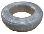 Pvc tubing 1/2 x 1/4 x 100' clear polywire