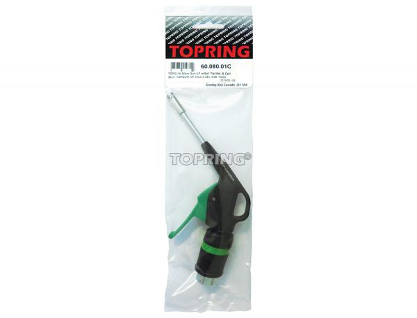 Topquik blow gun ultraflo w/safety tip metal & coupler 31.749