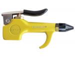 Compact rubber tip blow gun