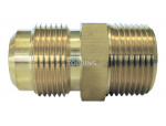 Male flare connector sae 3/4 x 3/4 (m) npt