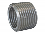 Aluminium reducer/adapter 3/4 (m) bspt x 1/2 (f) bspp