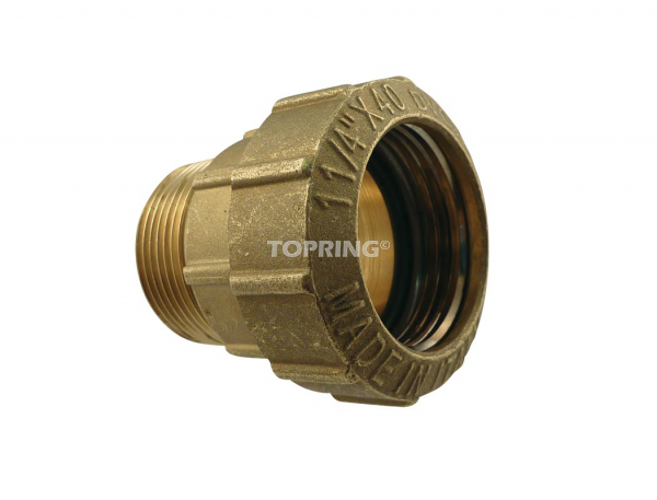 Male threaded connector 40 mm x 1-1/4 (m) bspt quickline