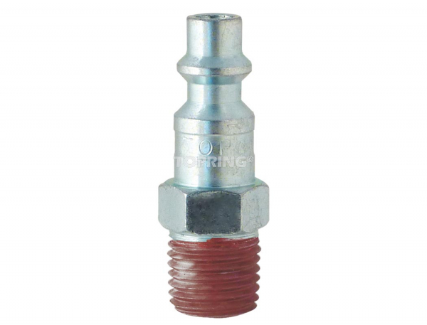 Plug (1/4 industrial) 1/4 (m) npt with sealant coating