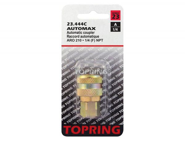 Coupler automax (aro 210) 1/4 (f) npt (automatic)