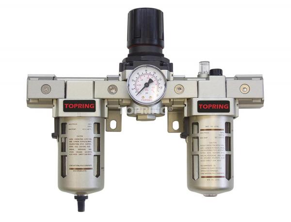Filtre + régulateur + lubrificateur (manomètre inclus) 1/2 airflo 400 auto