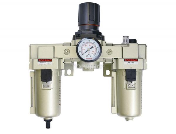Filtre + régulateur + lubrificateur automatique 3/4 airflo 450