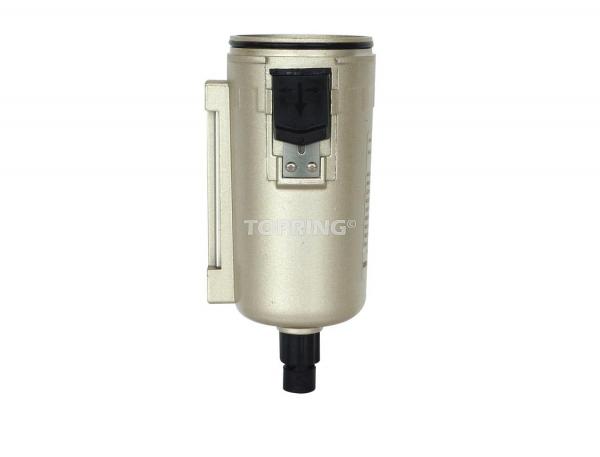 Bol métal +purgeur semi auto pr filtre, filtre/régulateur airflo 450-500-600