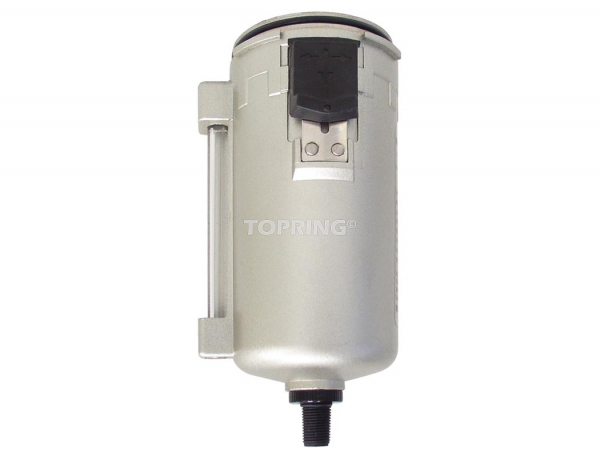 Bol métal +purgeur auto pour filtre, filtre/régulateur airflo 450-500-600