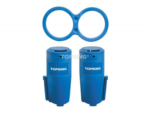 Oil/water separator 2500 scfm hiflo