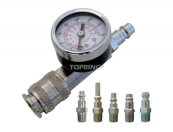 Compact pressure tester