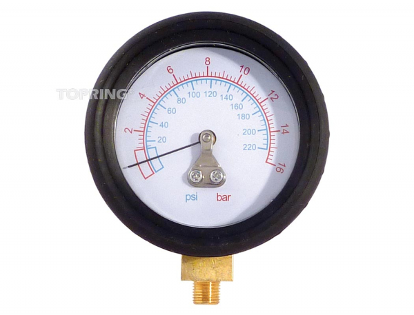 Gauge 0-220 psi for 63.659/664/665/669