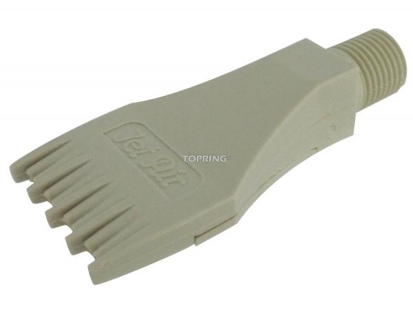 Buse plate température élevée 1/4 (m) npt
