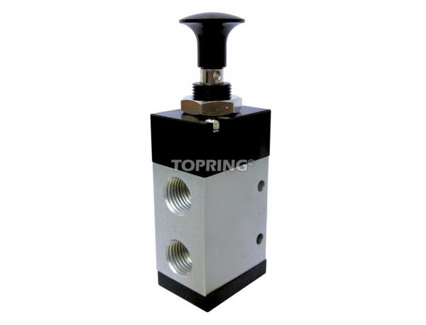 Maxima valves à bouton (à détente)- 5 voies / 2 positions