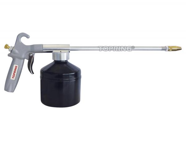 Pistol grip oil spray gun topgun