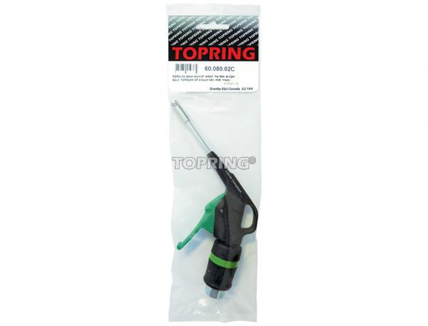 Topquik blow gun ultraflo w/safety tip metal & coupler 31.769