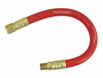 "Positionable hose 3/8id x 24"" x 1/4(m-f) npt"
