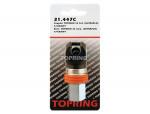 Coupler topquik sc safety (ultraflo) (automatic) 1/4 (f) npt