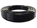 Tubing polyurethane 6 mm x 30m black
