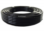Tubing polyurethane 1/2 x 100' black