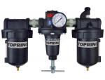 Filter + regulator + lubricator 3/4 manual zinc hiflo