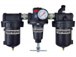 Filter + regulator + lubricator 1 automatic zinc 5 micron hiflo
