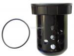 Bowl polycarbonate lubricator 1/2 hiflo