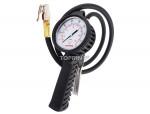 "Professional dial inflator gauge 39"" 7-180 psi"