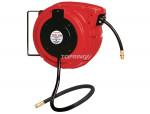 Hose reel rolair/pvc hose 3/8 x 50' x 1/4 (m) npt lrg