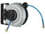 Hose reel retracto w/ pu hose 1/4 x 20' x 1/4 (m) npt