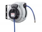 Hose reel retracto w/ pu hose 5/16 x 30' x 1/4 (m) npt
