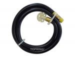 "Connecting hose 1/4"" rolair std"