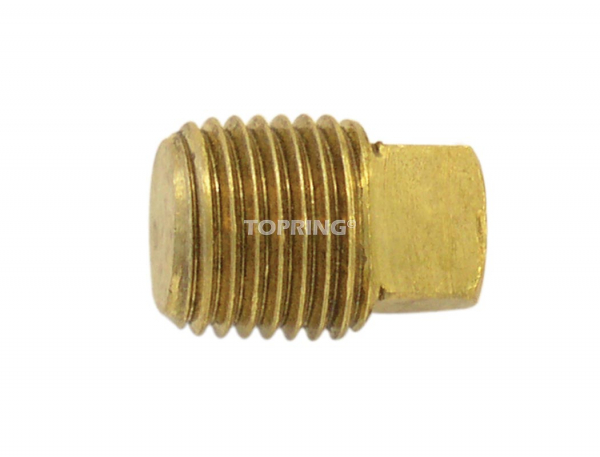 Square head pipe plug 3/8 (m) npt