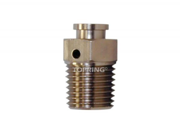 Bleed valve 1/4 (m) npt