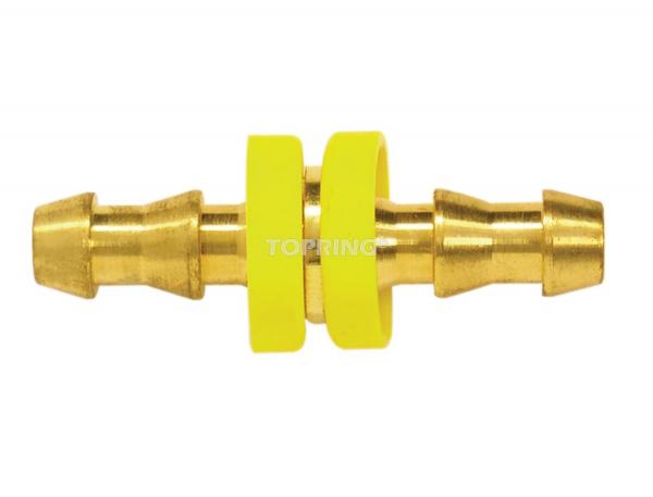 Hose barb splicer for lock-on hose 3/4