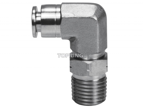 Male swivel elbow 5/16 x 1/8 (m) npt ss topfit