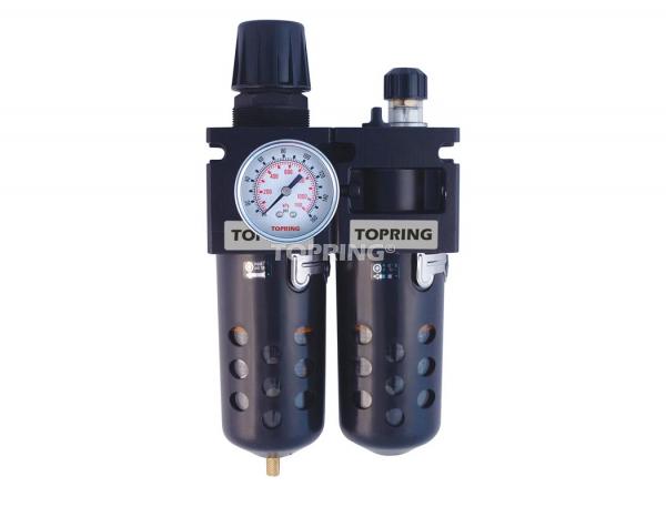 Filter/regulator+lubricator 3/4 maxi manual polyurethane