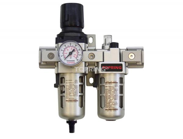 Filtre/régulateur+lubrificateur 3/8 airflo 300 auto