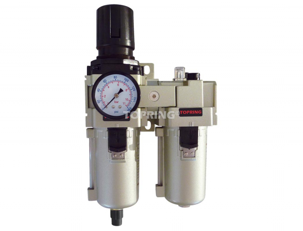 Filtre/régulateur+lubrificateur automatique 3/4 airflo 450
